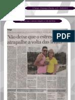 Não deixe que o estresse atrapalhe a volta das férias - Jornal O Tempo 030213