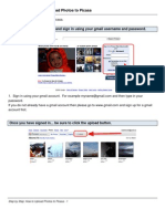 How to Upload Photos to Picasa