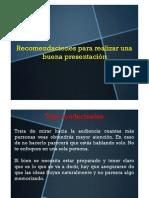 Tips Presentaciones