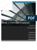 Portfolio Week 3 Analysis