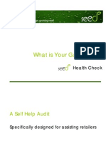 Seed Retail Health Check