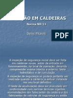 INSPEÇÃO EM CALDEIRAS (Denis)