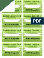 Badges Sankalpa Bang2013