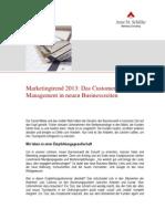 Artikel Marketingtrend2013Marketingtrend 2013