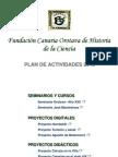 Plan de Actividades 2013