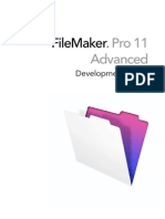 FileMaker Pro Advanced 11 Development Guide