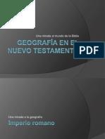 Geografía en el Nuevo Testamento