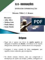 CIVIL II - OBRIGAÇÕES - Trabalho NP 2