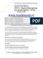 NISM Equity Derivatives Study Material and Mock Test
