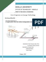 MSW Cogen Term Paper Report