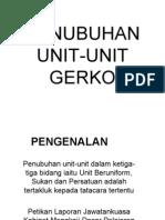 Penubuhan Unit Gerko