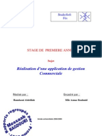 ApplicationCommerciale