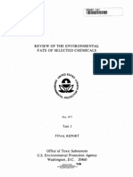 Review of the Environmental Fate of Selected Chemicals