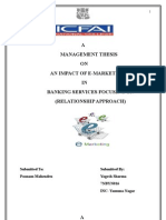 Thesis on E-marketing