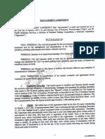 Standard Parking Meter Management Agreement