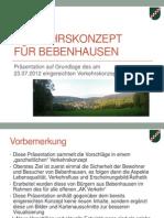 Verkehrs-Konzept Bebenhausen