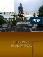 Rizal's martyrdom