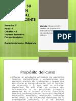 Presentación General curso Sujeto