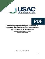 Final Metodologia para la Organización RU  USAC 24 oct