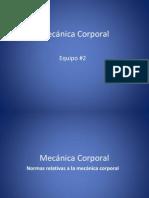 Exposicion - Enfermeria Fundamental - Mecanica Corporal
