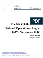 NKVD Mass Secret Operations