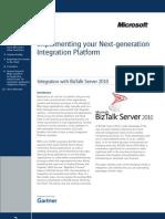 Gartner-Microsoft Joint Newsletter - Implementing Your Next-Generation Integration Platform