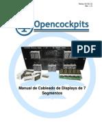 Manual Cableado Displays 7segmentos 2012 REV1.0 Castellano