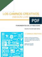 2 Los Caminos Creativos en Publicidad