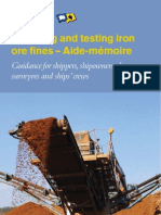 Iron Ore ( Testing Procedure )
