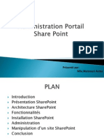 Formation Share Point V1