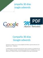 30dias Google Adwords