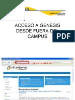 Acceso a Genesis
