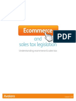 Ecommerce and Sales Tax Legislation