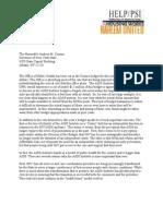 NYSDOHAI Budget 2013 Letter Final