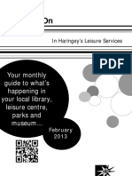 What's On in Haringey Libraries February 2013