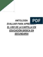 ANTOLOGIA TALLER DE EVALUACIÓN