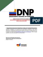 Indicadores Quincenales Colombia