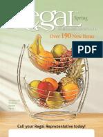 Spring 2013 Catalogue For Regal