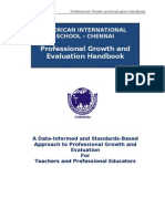 AISC Professional Growth and Evaluation Handbook