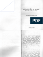 Anthony de Mello - Absurditati La Minut