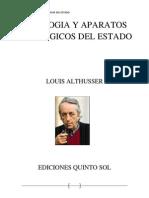 Ideologia y Aparatos Ideologicos Del Estado