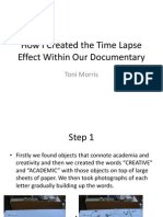 How Time Lapse Works