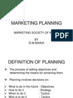 Marketing Planning (Msk)