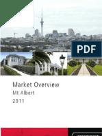 Market Overview - Mt Albert - 2011