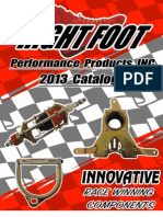 2013 Right Foot Performance Products Catalog