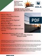 Foro Comunitario La Seguridad Fronteriza y La Migracion Actual Ingles