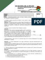 Respuestas a Examen Sustitutorio 2012-II