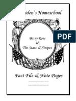 Betsy Ross & the Stars &  Stripes, Donnette E Davis, St Aiden's Homeschool