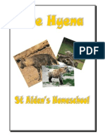 Hyena Mini Workbook, Donnette Davis, St Aiden's Homeschool