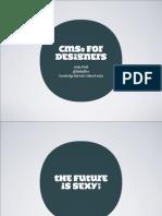 Cms for Designers